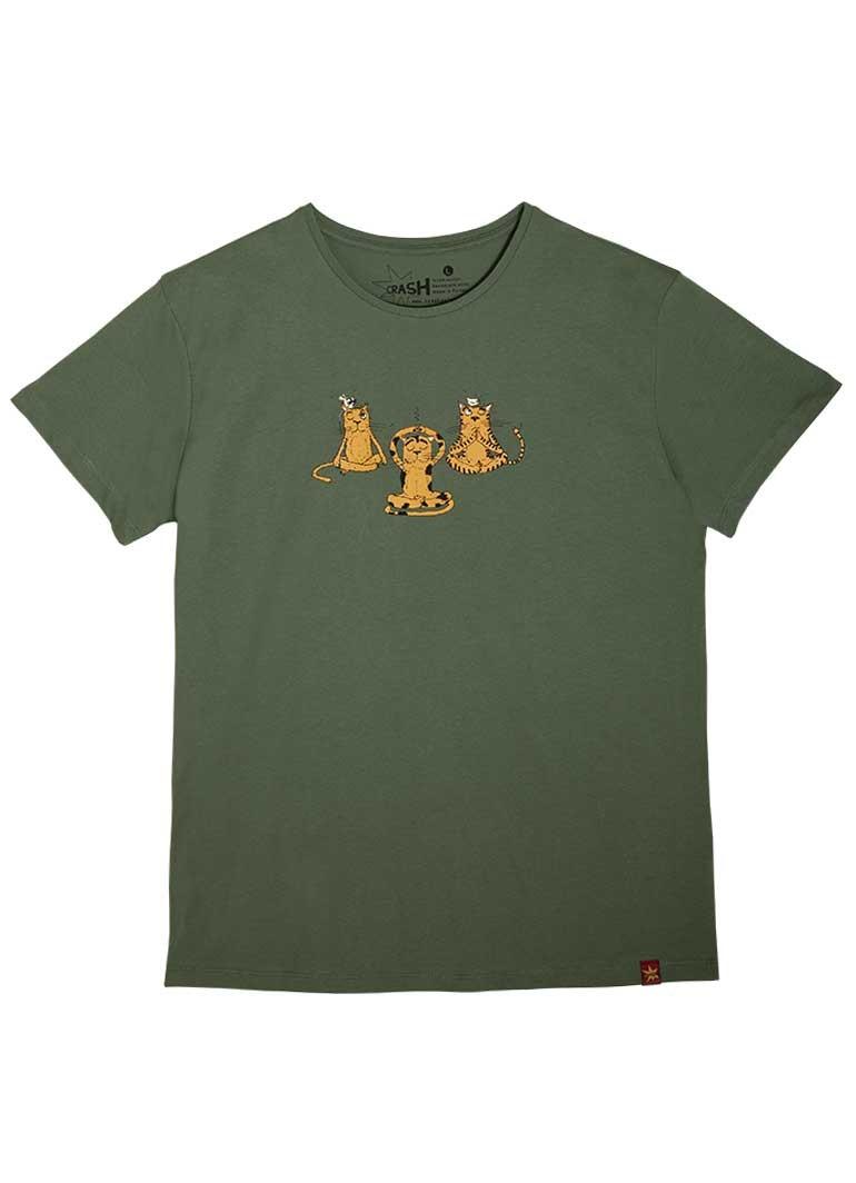Yogacı Kediler - Yeşil