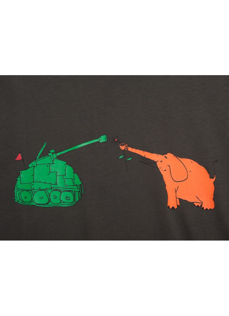 Fil ile Tank - Siyah