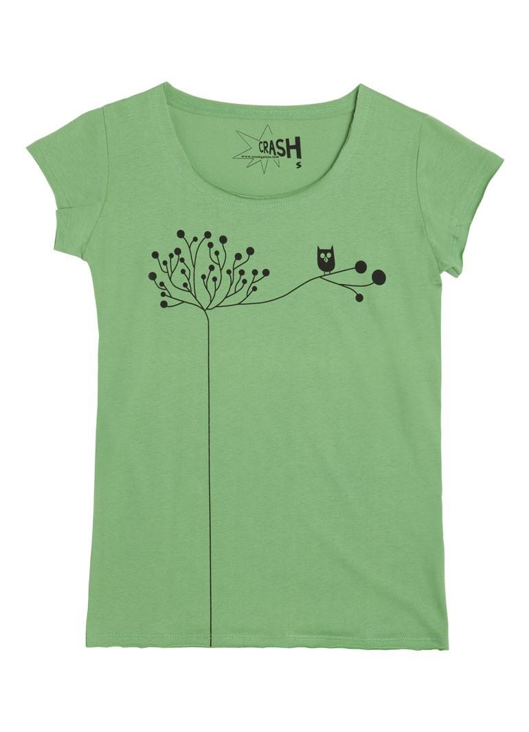 Daldaki Baykuş - Yeşil