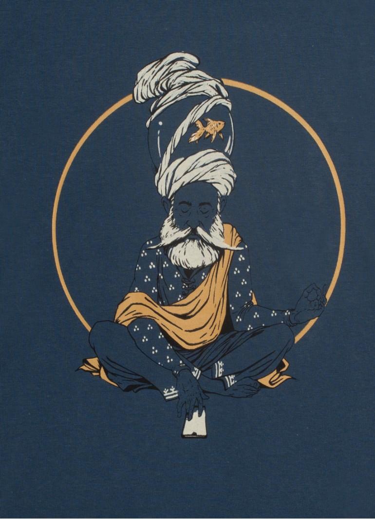 Balıklı Derviş -Lacivert