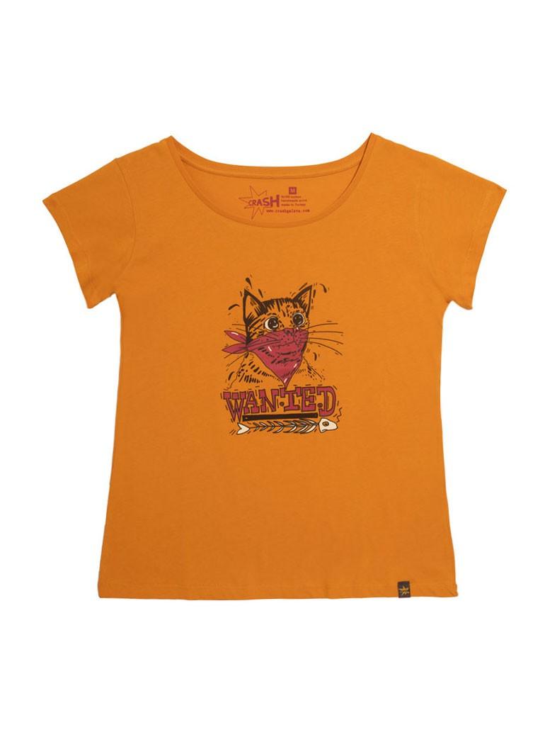 Maskeli Kedi - Sarı